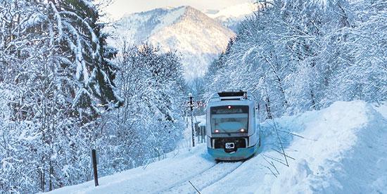 Navette gare Saint Michel de Maurienne station de ski