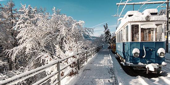 Navette gare Landry station de ski