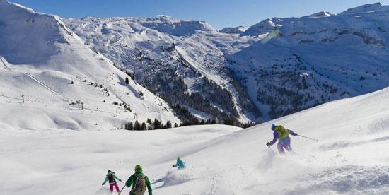 Skier à Samoëns