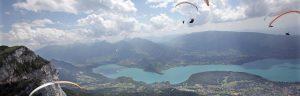 Championnat du monde de parapente Lac d'Annecy