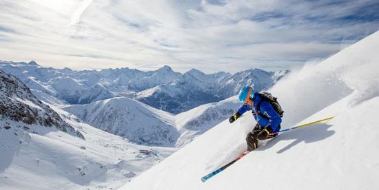 Skier à l'Alpe d'Huez