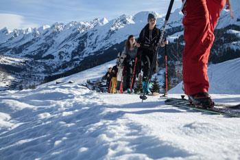 Pistes de ski station La Clusaz