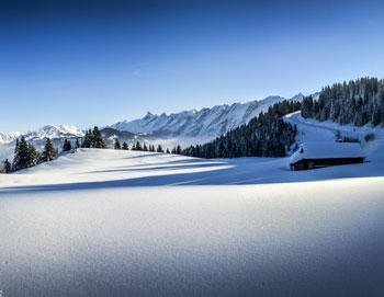 Ski de randonnée station la Clusaz