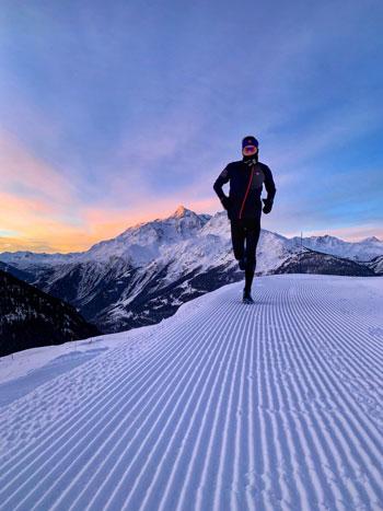 Trail Running La Rosière