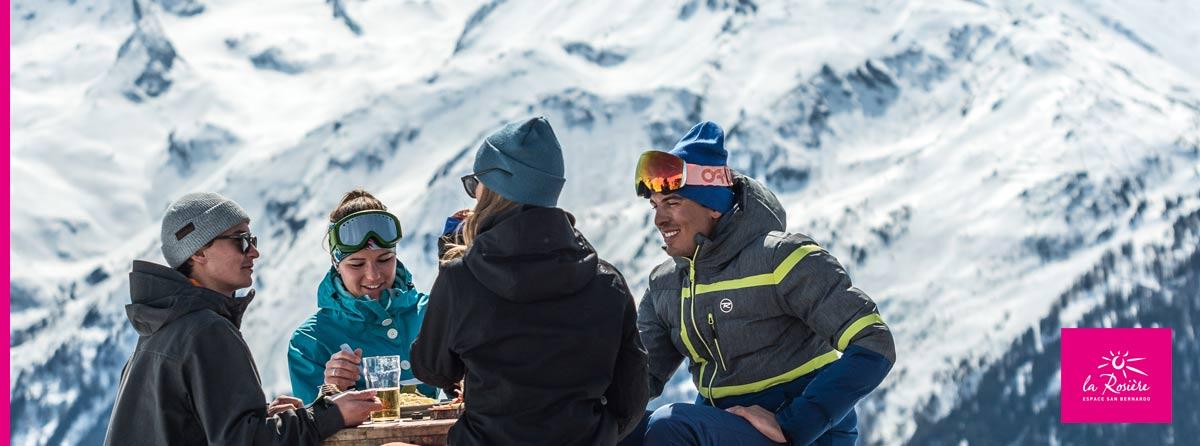 Station ski La Rosère