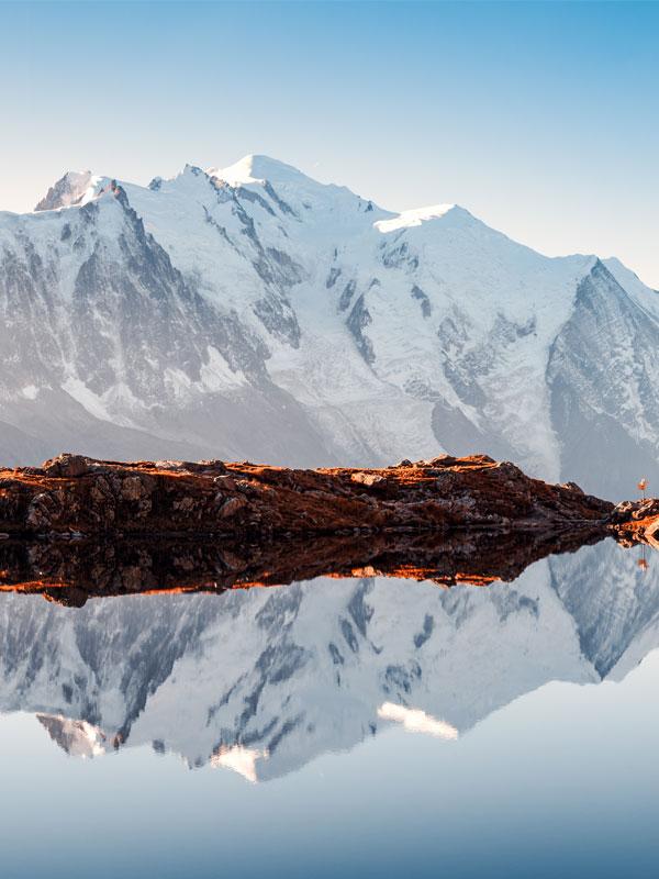 rando montagne lac cheserys