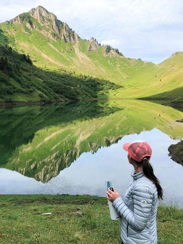 rando montagne lac lessy grand bornand