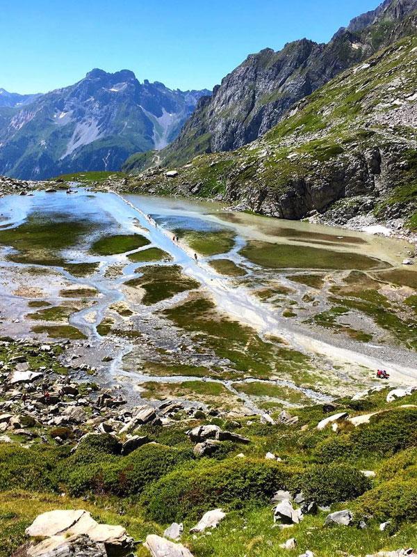 rando montagne lac des vaches