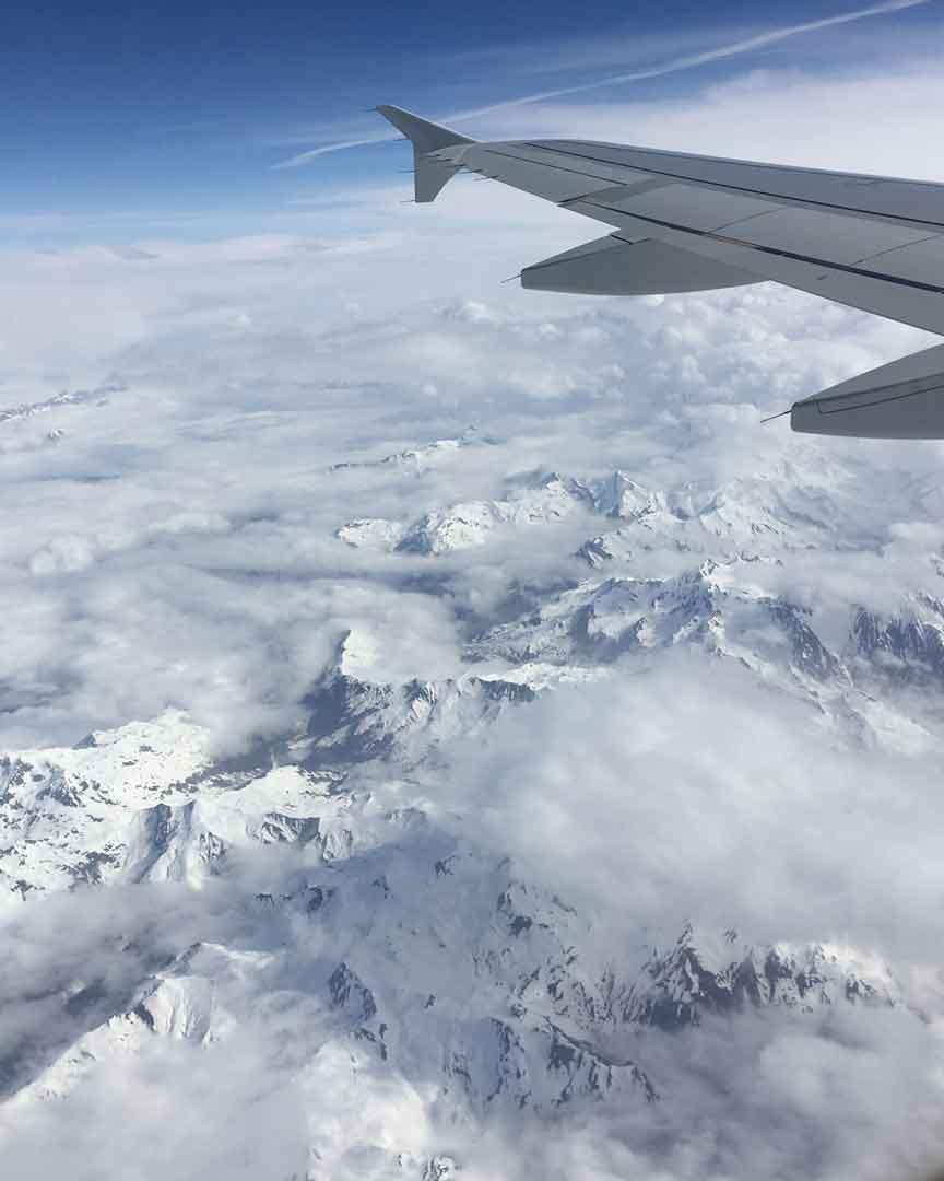 Aéroport hiver
